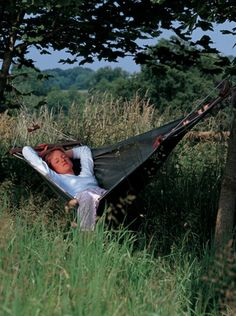 I love the thought of having a Hammock where you can go and relax!