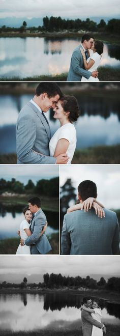 Outdoor wedding couple shoot inspiration with a minimalistic feel