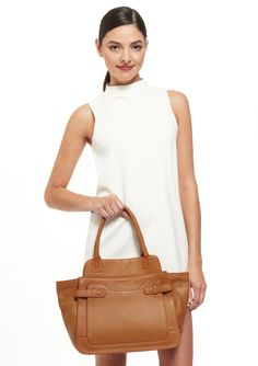 I really need a brown purse like this!