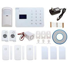 81.60$  Watch here - http://ali19m.worldwells.pw/go.php?t=32769053488 - NEW DC12V GSM Wireless Remote Control IR Smoke Sensor Home House Security Alarm System Doorbell Function 81.60$