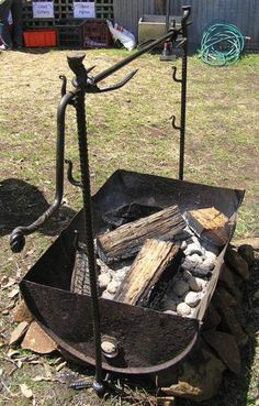 Artist Blacksmith Tasmania - Growling Anvil, Deloraine