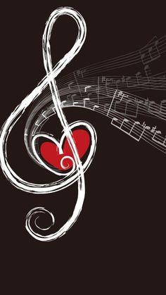 I Love Music, Music Is Life, Musik Wallpaper, Mobile Wallpaper, Tattoo Fe, Instruments, Music Tattoos, Tatoos, Cloud Tattoos