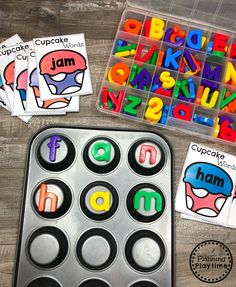 Looking for fun ways to teach CVC Words? Kids will love decoding and reading words with these fun, hands-on centers and no-prep worksheets. Beginning and ending sounds as well as medial vowels. Kindergarten Lesson Plans, Kindergarten Centers, Preschool Learning, Kindergarten Activities, Literacy Centers, English Kindergarten, Phonemic Awareness Kindergarten, Preschool Assessment, Kindergarten Language Arts
