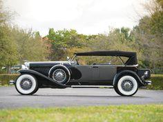 1930 Duesenberg Model J 'Sweep Panel' Dual-Cowl Phaeton by LeBaron | Amelia Island 2015 | RM Sotheby's