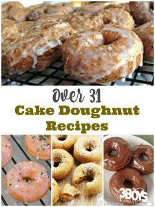 Over 31 Cake Doughnut Recipes
