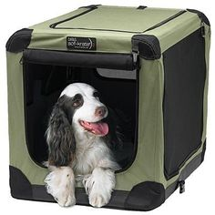 N2N Sof-Krate N Series Portable Dog Home-Forest Green