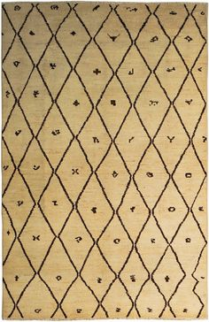 New Contemporary Pakistan Moroccan 65341 - Area Rug area rugs