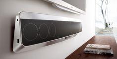 โฮมเธียเตอร์ Philips Fidelio SoundBar พร้อมเทคโนโลยี Ambisound HTB9150-รุ่นอะลูมิเนียม
