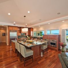 Kitchen table island combo kitchen pinterest island for Skylights of hawaii llc