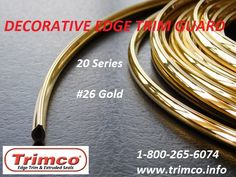 Trimco (aka Trim-Co) Decorative Edge Trim Guard is a pre-glued flexible plastic Edge Trim available in chrome, gold and colors for unfinished edges. Virago Cafe Racer, Plastic Sheets, Decoration, Sheet Metal, Flexibility, Adhesive, Chrome, Doors, Lamp Shades
