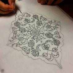 Islamic Art Pattern, Arabic Pattern, Pattern Art, Arabesque, Turkish Pattern, Middle Eastern Art, Illumination Art, Turkish Art, Foil Art