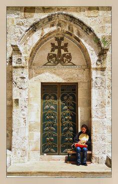 Via Dolorosa - Old City, Jerusalem, ISRAEL.