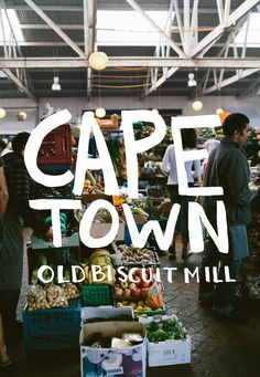 Cape Town Little Biscuit Mill ~ is a vibrant, beautiful little village in the heart of Woodstock with markets, designer stores, cafes and workshops. Ranked # 13 of 190 things to do in Cape Town Central by TripAdvisor Woodstock, Population Du Monde, Cape Town Holidays, Stuff To Do, Things To Do, Le Cap, Miss Moss, Cape Town South Africa, Africa Travel