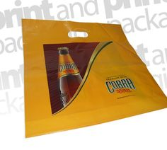 Cobra Lager | Patch Handle Carrier Bags