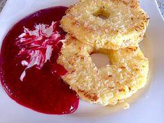 Ananas - Kokos - Ringe mit Himbeeren (Rezept mit Bild) | Chefkoch.de