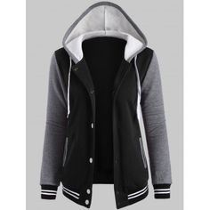 SHARE & Get it FREE | Fleece Baseball Hoodie JacketFor Fashion Lovers only:80,000+ Items·FREE SHIPPING Join Dresslily: Get YOUR $50 NOW!