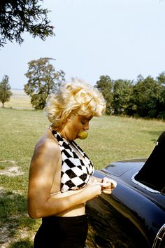 """elsiemarina: """"""""Marilyn photographed by Eve Arnold, 1955 """" """""""