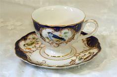 Blue Bird Cup & Saucer Set-Simpson & Vail, Inc.