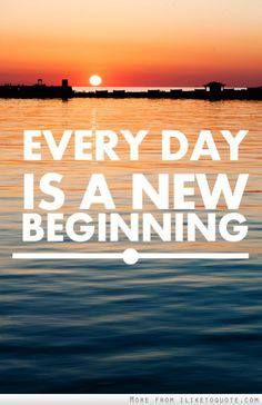 "What's great about the sunrise is that if you are fortunate enough, from proper diet, exercise and healthy living, to live to be 100 years of age, then basically you have been given 36,500 ""do-overs"".  Each day is in fact a new beginning, a do-over, so-to-speak.  It's a way to start a fresh new canvas for the future or maybe even repair some damage that has already been done.  Either way, I truly believe that dying is the easy part.  It's the people you leave behind that is the hardest part."