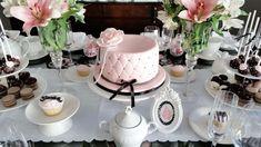 Um chá super feminino! - Madrinhas de casamento