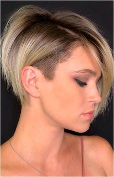 Bob Hairstyles For Fine Hair, Trending Hairstyles, Short Hairstyles For Women, Easy Hairstyles, Beautiful Hairstyles, Hairstyle Ideas, Short Hair Cuts For Women Pixie, Fine Hair Pixie Cut, Bob Cuts For Women