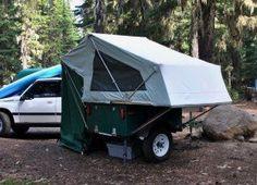M.O.A.B. Folding Tent Unit - DIY Compact Camping Trailers