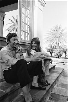 On set of 'La Piscine' directed by Jacques Deray In Saint Tropez, France. August, 1968