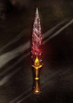 Blood Crystal Dagger