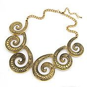 Fashion Helix Alloy Women's Necklace – USD $ 8.99