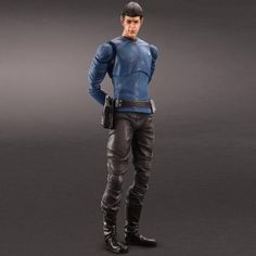 Star Trek Movies Mr Spock Play Arts Kai Action Figure
