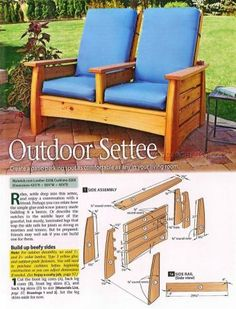 Patio Chair Plans   Outdoor Furniture Plans And Projects    WoodArchivist.com   Chairs   Pinterest   Outdoor Furniture Plans, Furniture  Plans And Patios