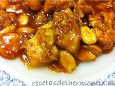 Chicken with almonds in Thermomix - RecetasDeThermomi .