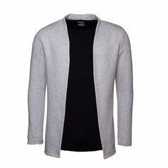 Cloak College Jacket Melange Grey   Vaella Clothes   Wolf & Badger  /  Men / Clothing / Jackets