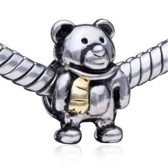 Pugster Bead Funny Bear European Charm Bead Fit Pandora Chamilia Biagi Charm Bracelet Pugster. $12.09. Pugster are adding new designs all the time. Money-back Satisfaction Guarantee. Unthreaded European story bracelet design. Free Jewerly Box. Fit Pandora, Biagi, and Chamilia Charm Bead Bracelets