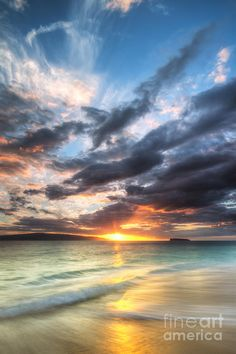 ✮ Makena Beach - Maui, Hawaii Sunset