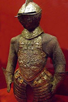 Armor steel embossed with traces of gilding French about 1575-1580 CE | Flickr - Photo Sharing!