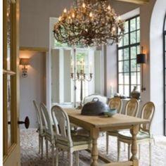 elegant french decor | Via Kathleen Vizard