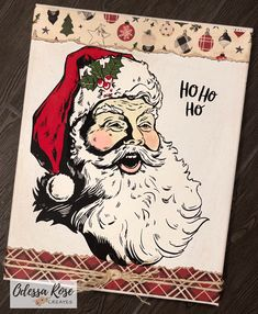 Chalk Couture by Odessa Rose Creates Christmas Signs Wood, Diy Christmas Cards, Christmas Projects, Winter Christmas, Christmas Ideas, Chalk It Up, Chalk Art, Chalk Painting, Chalk Crafts