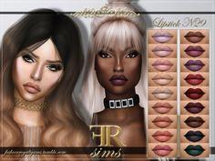 Lipstick N29 at Fashion Royalty Sims • Sims 4 Updates