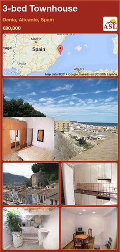 3-bed Townhouse in Denia, Alicante, Spain ►€80,000 #PropertyForSaleInSpain
