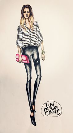 Our Favorite Style Ilustration by. Wilber Salguero