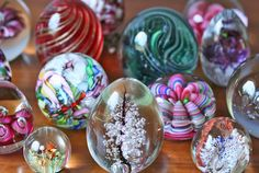 My grandparents had a large collection of paperweights.