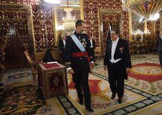 El Rey Felipe VI recibió las Cartas Credenciales del embajador de Argentina, Federico Ramón Puerta.  08-09-2016