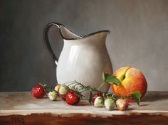 Julie Y Baker Albright-Vermont Fine Artist JYBA Realism Art Oil Paintings Still…