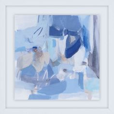 Cool down the color palette in your living space with the Paragon Blue Monday Framed Wall Art. Artist Long uses bold brushstrokes in dark and light blue hues to Hanging Wall Art, Wall Art Sets, Metal Wall Art, Framed Wall Art, Painting Frames, Painting Prints, Canvas Art Prints, Canvas Wall Art, Wall Art Pictures