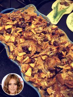 Jessica Alba's Apple Banana Gluten Free Bread Pudding. Perfect for Thanksgiving! ☀CQ #GF #glutenfree