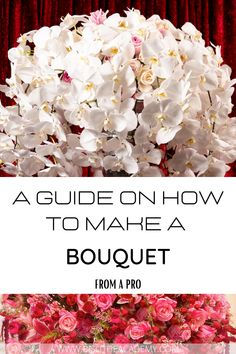 Flower Arrangements DIY How To Make, diy bridal bouquet step by step, how to make a bridal bouquet tutorials, diy bride bouquet, how to make cascading wedding bouquets Cascading Wedding Bouquets, Cascade Bouquet, Diy Wedding Bouquet, Bride Bouquets, Floristry For Beginners, Most Popular Flowers, Types Of Flowers, Calla Lily, Event Decor