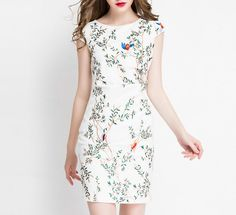 White Bodycon Dress Work Wedding Party Ted Baker by CHsApparelShop