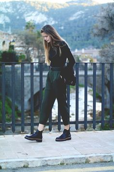 Get this look: http://lb.nu/look/8599837  More looks by Marta Ucler Ucler: http://lb.nu/martaucleer  Items in this look:  Zara Shirt, Vinatge Belt, Zara Pants, Primadonna Boots   #casual #chic #street