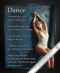 "Dance Leaning 8"" x 10"" Sport Poster Print"